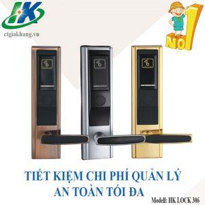 Khóa Thẻ Từ Thông Minh Hk Lock 306