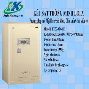 Két Sắt điện Tử Thông Minh Bofa FDG-A1D-100