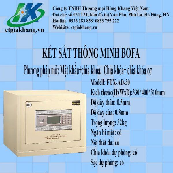 Két sắt điện tử Bofa FDX-AD-30