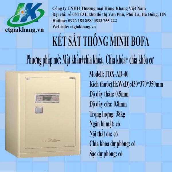 Két sắt điện tử Bofa FDX-AD-45