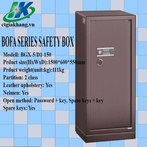 Két sắt điện tử nhập khẩu BGX-5D1-150