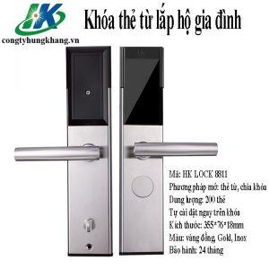 Khóa Thẻ Từ HK LOCK 8811 Cho Chung Cư, Hộ Gia đình