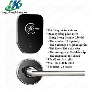 Khóa Thẻ Từ Khách Sạn Sử Dụng Phần Mềm Quản Lý Khép Kín HK LOCK 900A