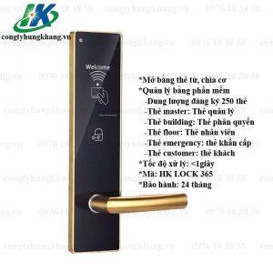 Khóa Thẻ Từ Khách Sạn Quản Lý Bằng Phần Mềm Khép Kín HK LOCK 365